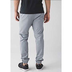 LULULEMON | Mens Gray Warpcity Jogger Pants L